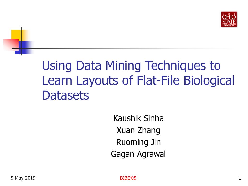 Using Data Mining Techniques to Learn Layouts of Flat-File