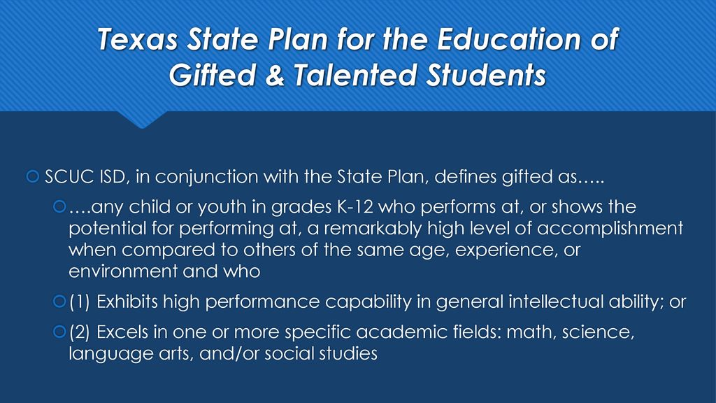 Gifted Talented Testing Ppt Download