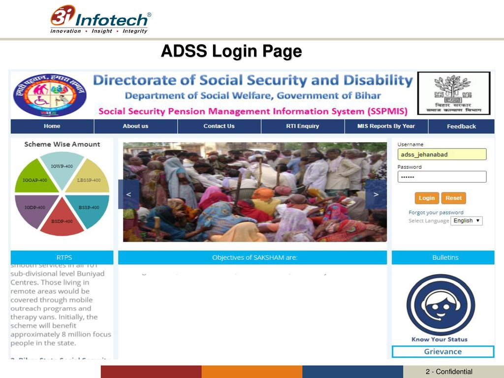 Management Information System for the Social Security Pension