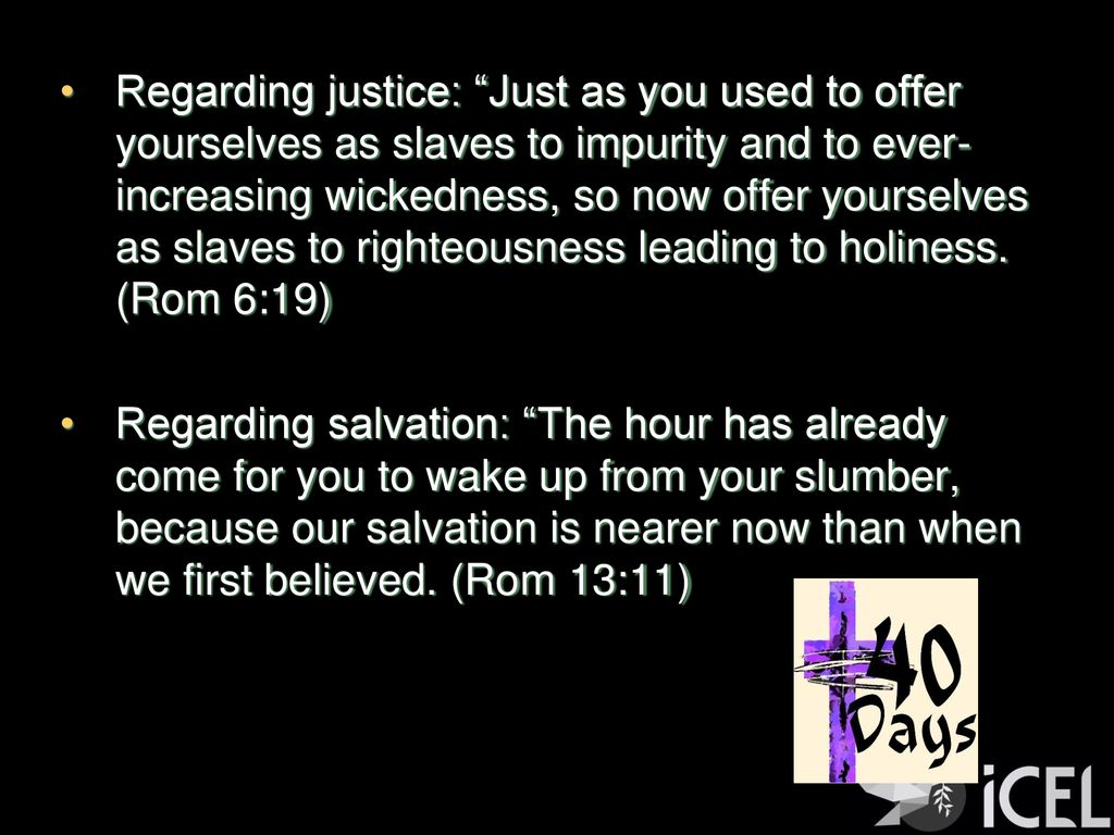 """Reminders help"""" Romans 10:5-13 ICEL March 10, ppt download"""