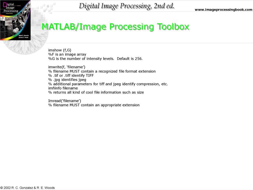 Chapter 2: Digital Image Fundamentals - ppt download