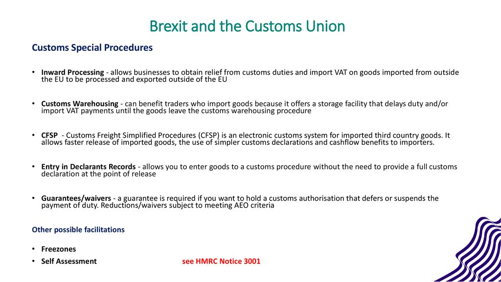 Brexit and the Customs Union - ppt download