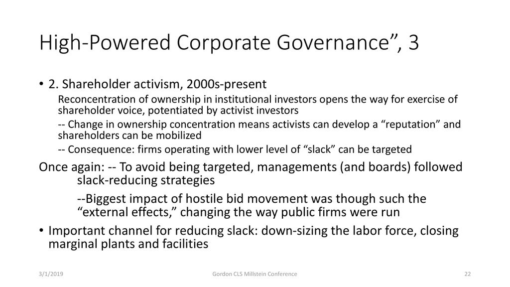"Corporate Governance ""Counter-narratives"": On Corporate"
