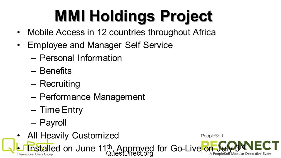 MMI Holdings Project Mobile Access in 12 countries throughout Africa