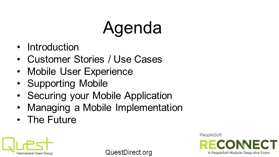 Agenda Introduction Customer Stories / Use Cases