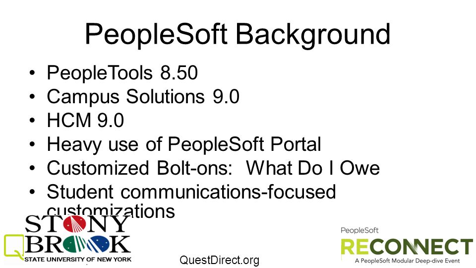 PeopleSoft Background