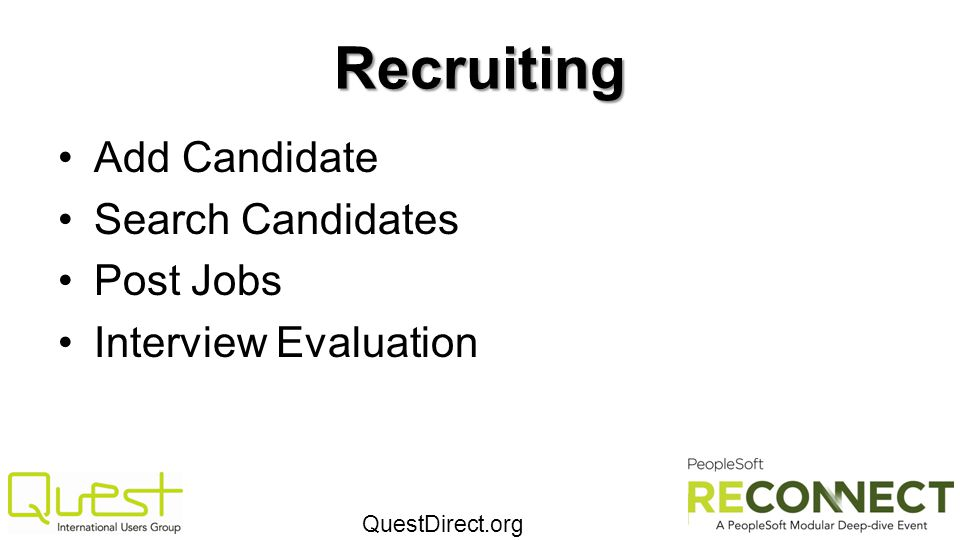 Recruiting Add Candidate Search Candidates Post Jobs