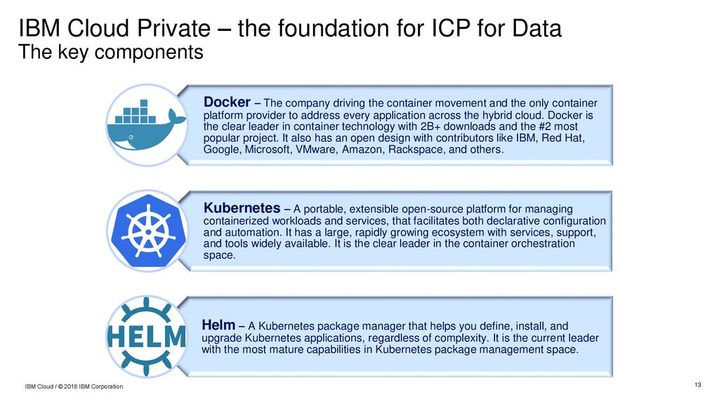 IBM Cloud Private for Data Overview - ppt download