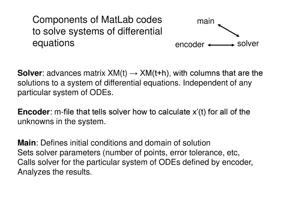 Chapter 10 ordinary differential equations (ODEs) - ppt download