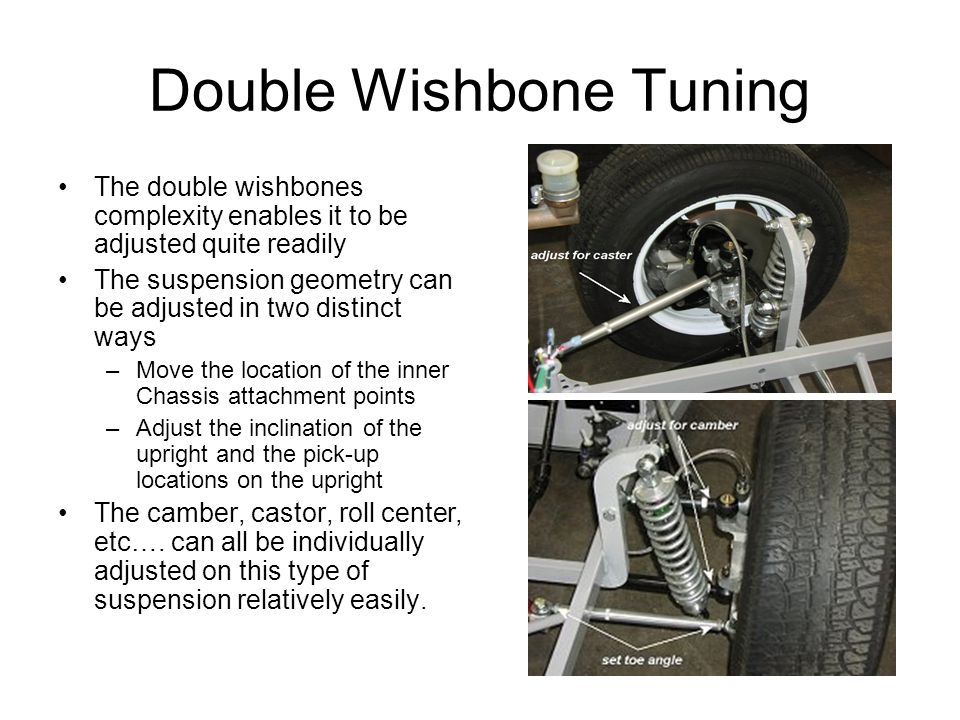 Double Wishbone Tuning