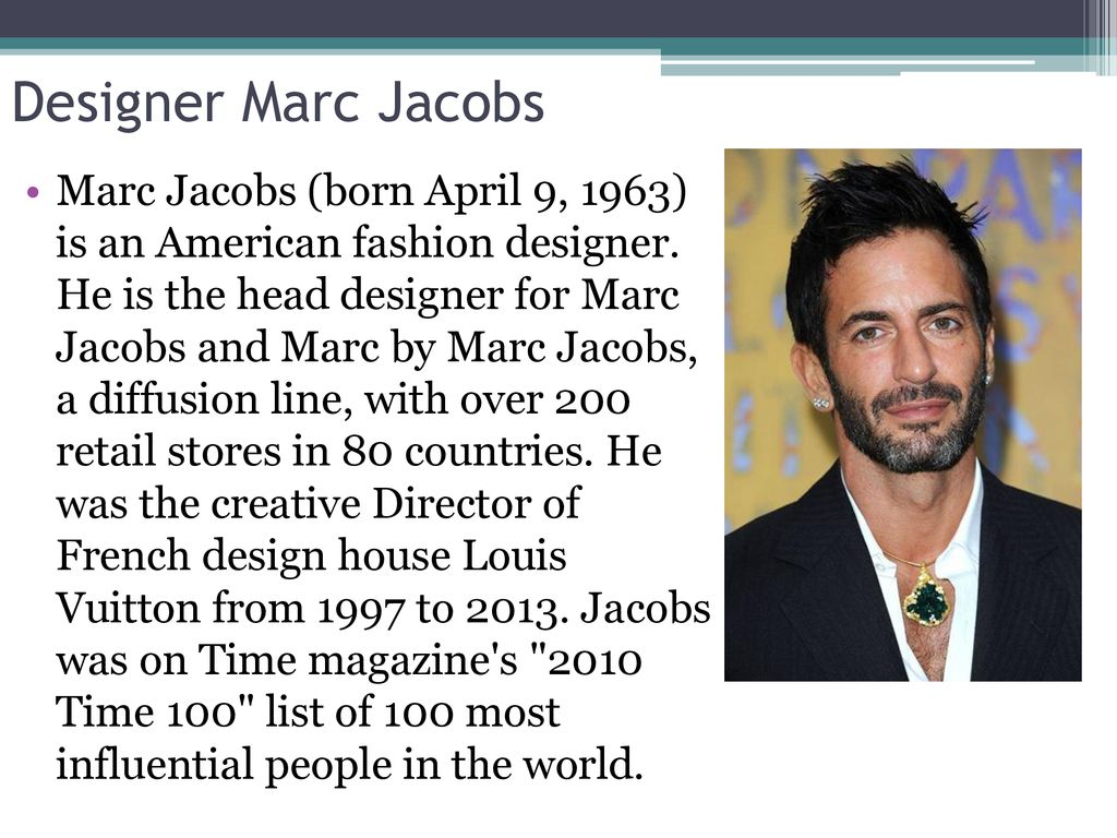 Marc Jacobs Ppt Download