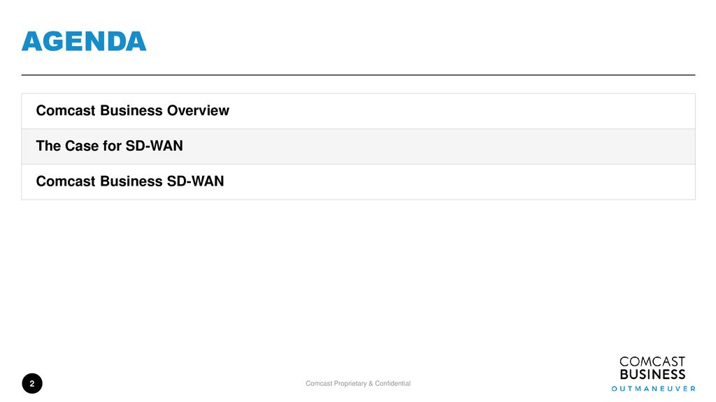 Comcast business Activecore/SD-WAN - ppt download