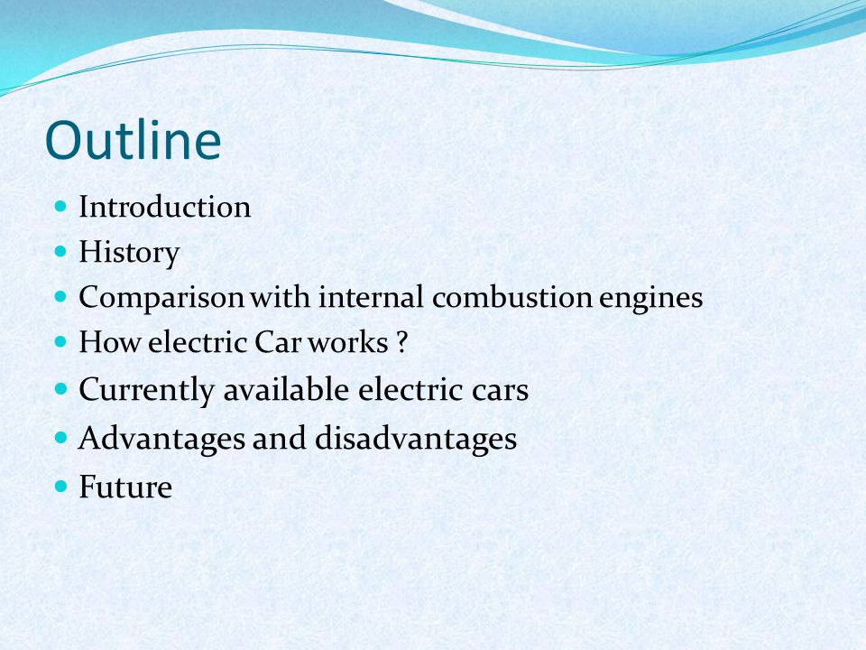 Seminar On Electric Car Ppt Download