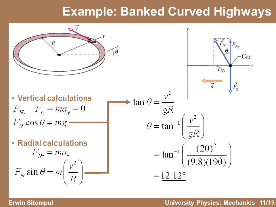 Banked Curves Physics Formulas - #GolfClub