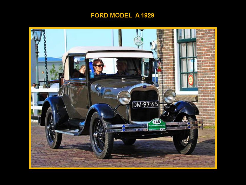 FORD MODEL A 1929
