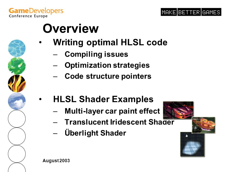 Efficient High-Level Shader Development - ppt download