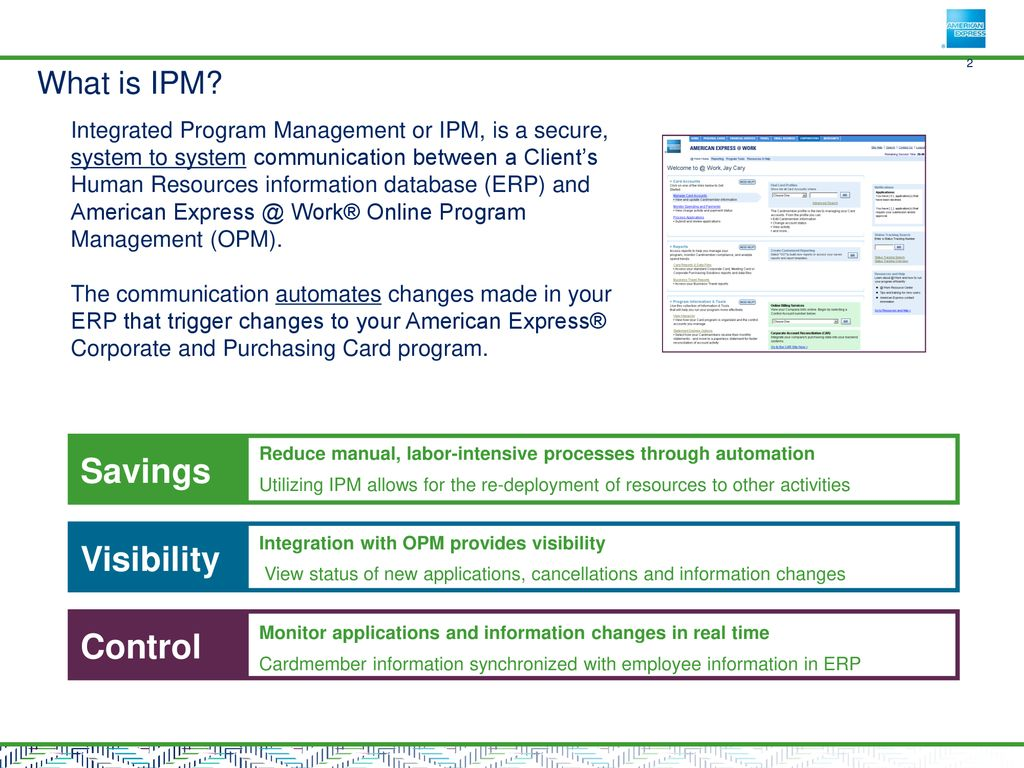 Integrated Program Management - ppt download