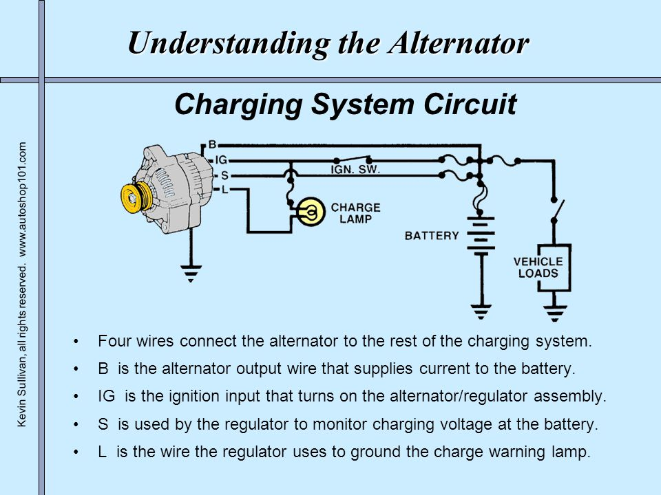 Alternator Charging System Circuit Diagram - Trusted Wiring Diagram