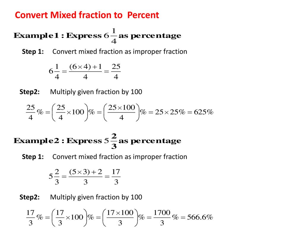 How to write mixed fractions as a percent american style sample of resume