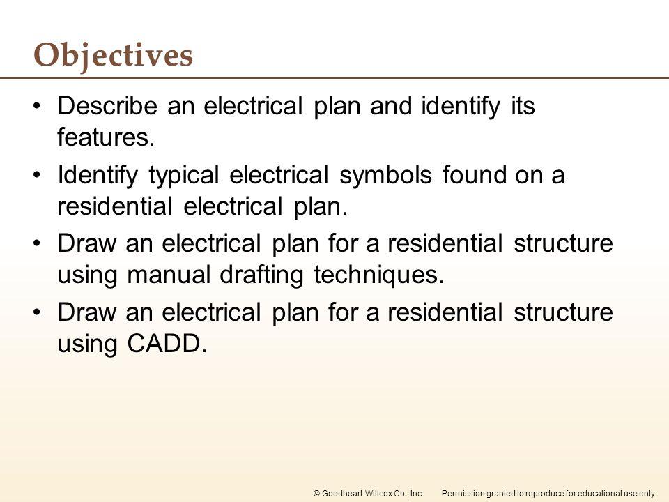Chapter 29 Electrical Plans. Chapter 29 Electrical Plans. - ppt ...