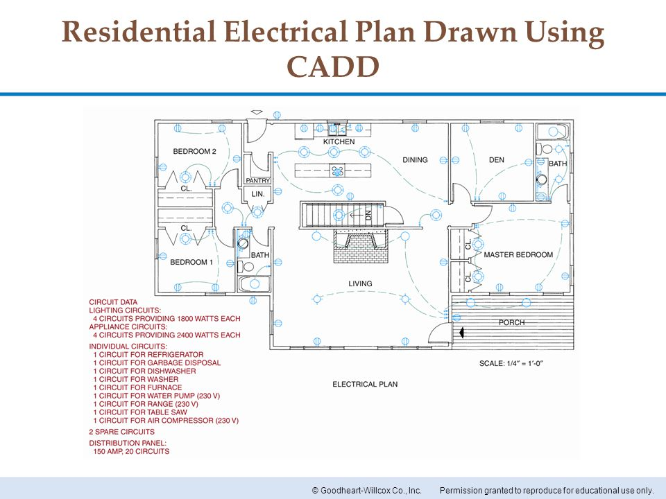 how to read electrical plans
