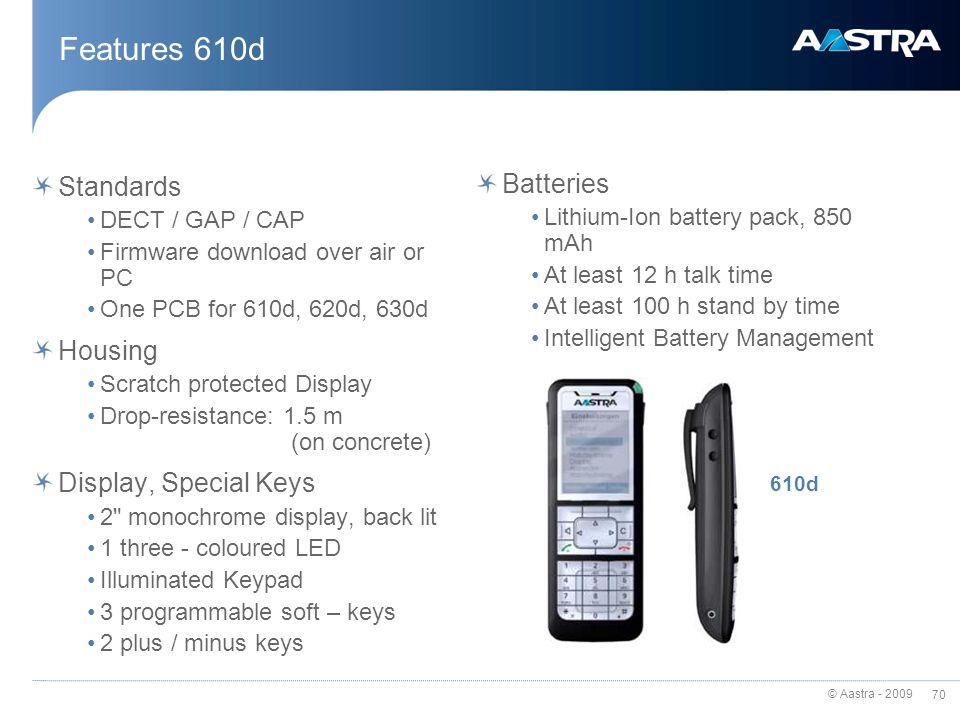 Aastra 620d sip-dect lite bundles 88-00002aus-a.