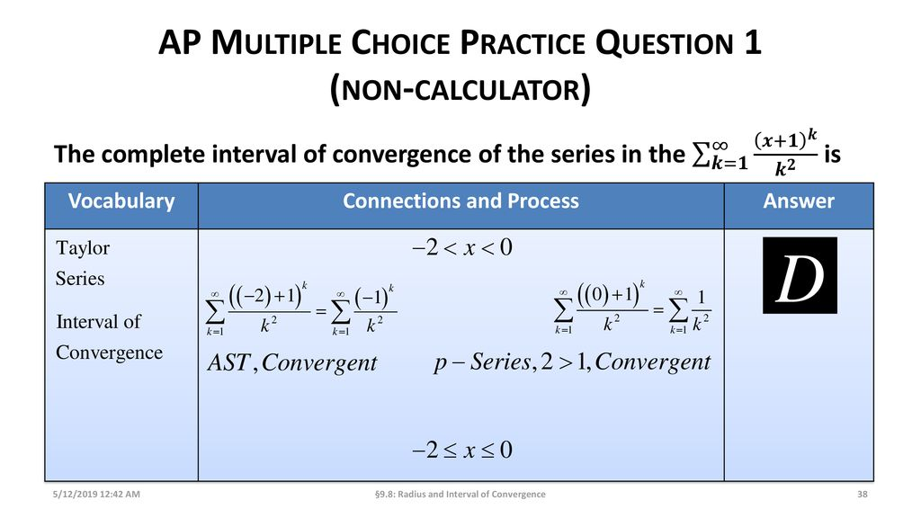 Radius and Interval of Convergence - ppt download