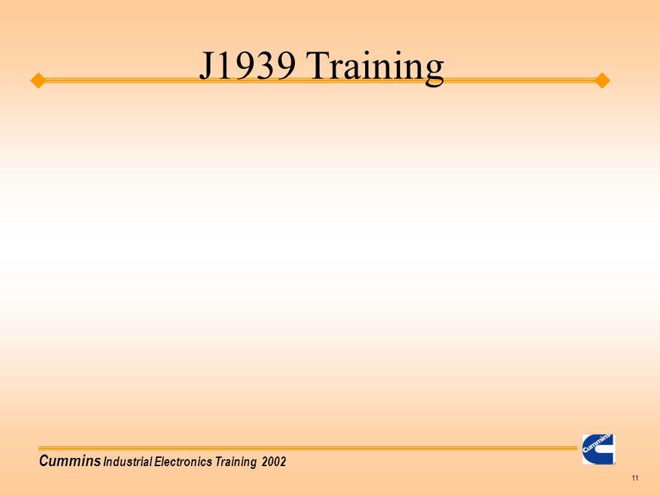 J1939 Training Agenda Basic Training: J1939 Vocabulary - ppt