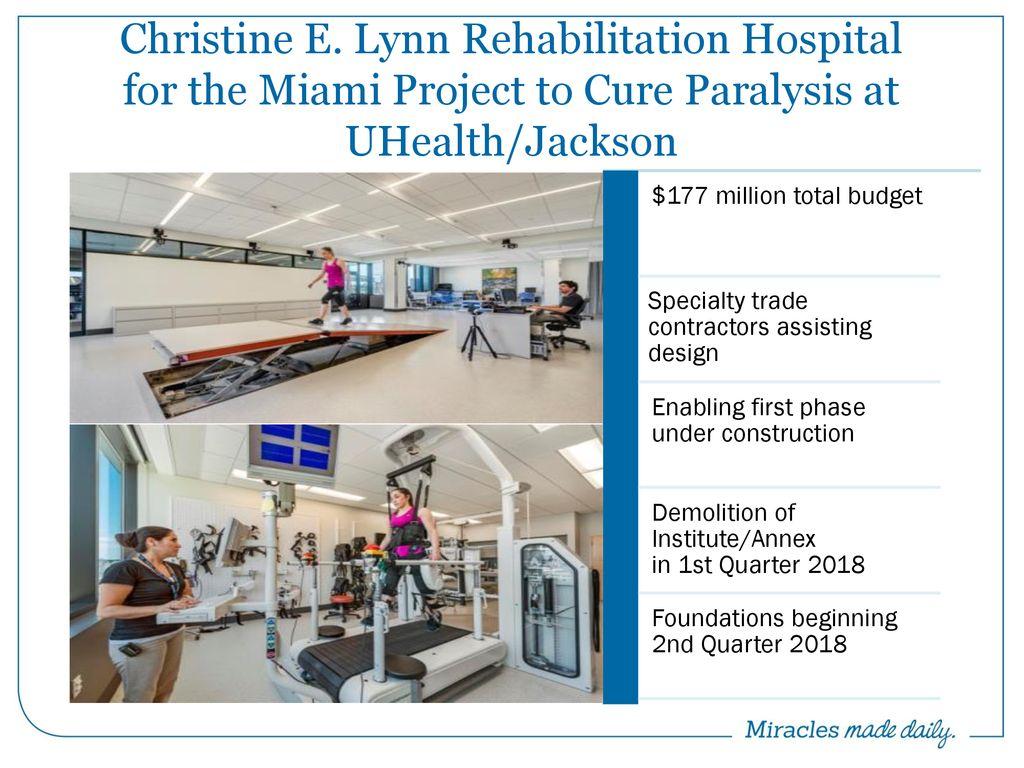 Christine E  Lynn Rehabilitation Hospital for the Miami