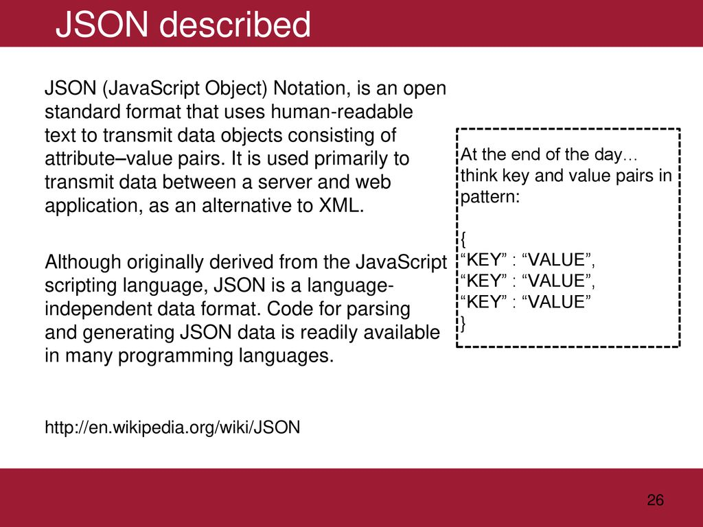 Introduction to AJAX and JSON - ppt download