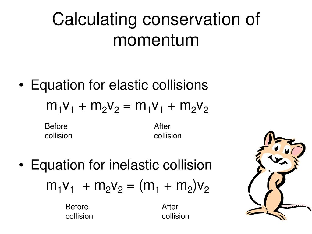 Law Of Conservation Of Momentum Ppt Download