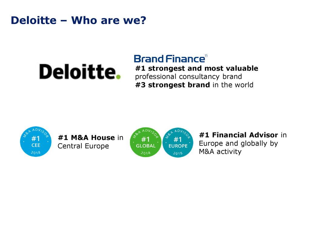 Join us at Deloitte Summer Academy - ppt download