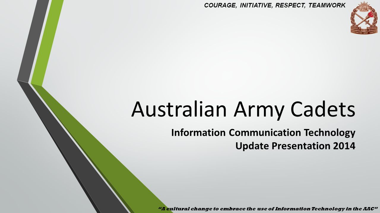 Afx Army Cadets australian army cadets - ppt video online download