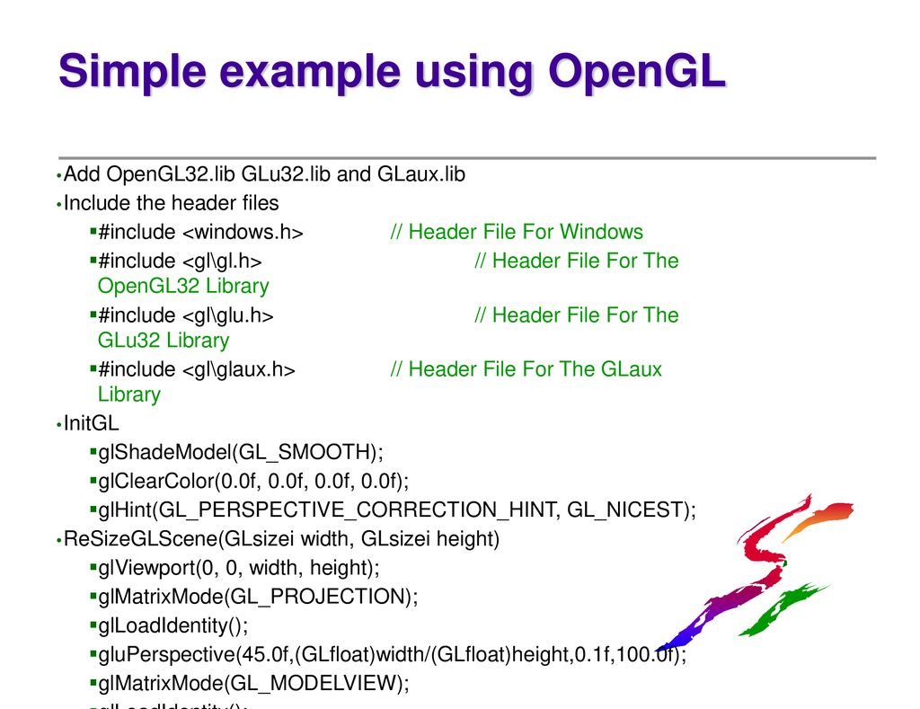 Introduction : What is OpenGL - ppt download