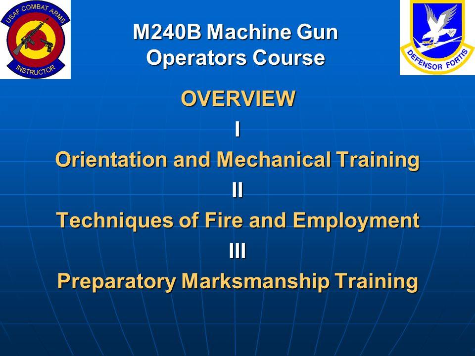 M240b tm manual array m240b machine gun operators course ppt download rh slideplayer com fandeluxe Images