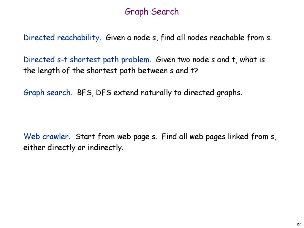 3 2 Graph Traversal  - ppt download