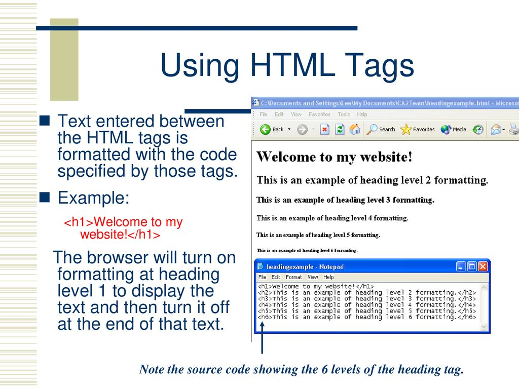 3 02D HTML Overview 3 02 Develop webpages  - ppt download