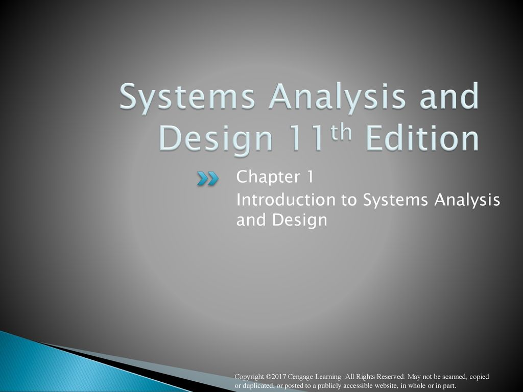 Systems Analysis And Design 11th Edition Ppt Download