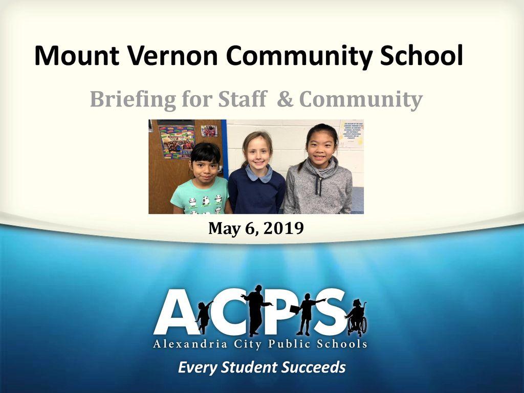 Mount Vernon Community School - ppt download