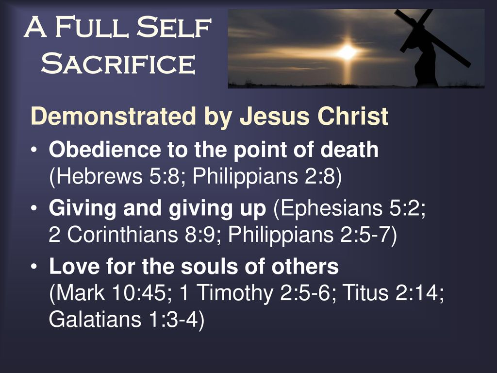 Jesus and Paul were Crucified through Self-Denial
