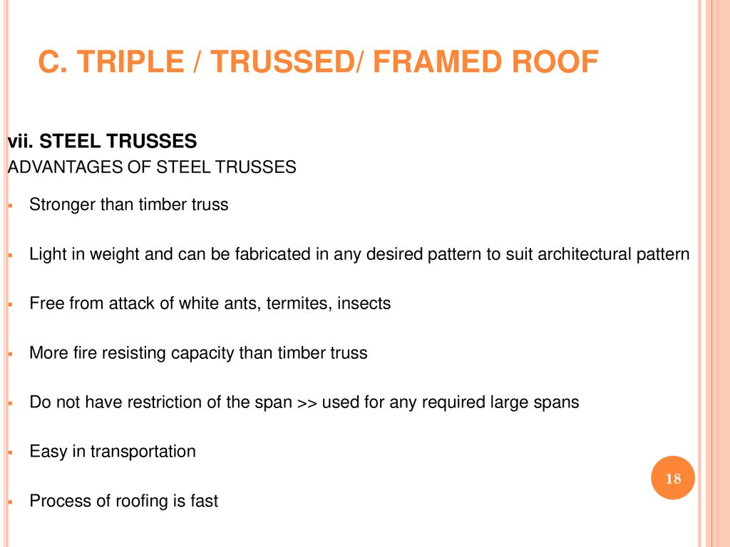 ROOFS  - ppt download