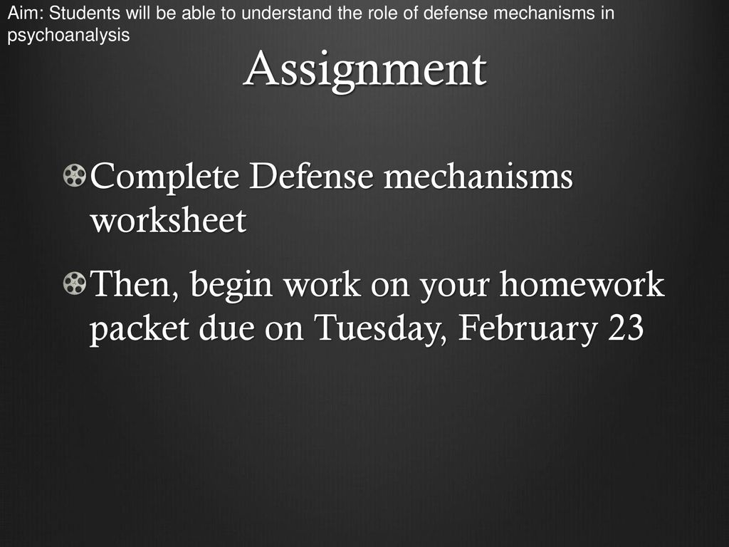 Hw Personality Hw Due On Tuesday February Ppt Download