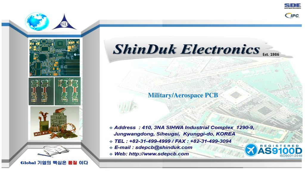 Military/Aerospace PCB - ppt download