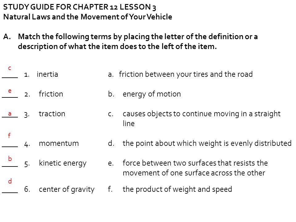 module 7 lesson 3 drivers ed
