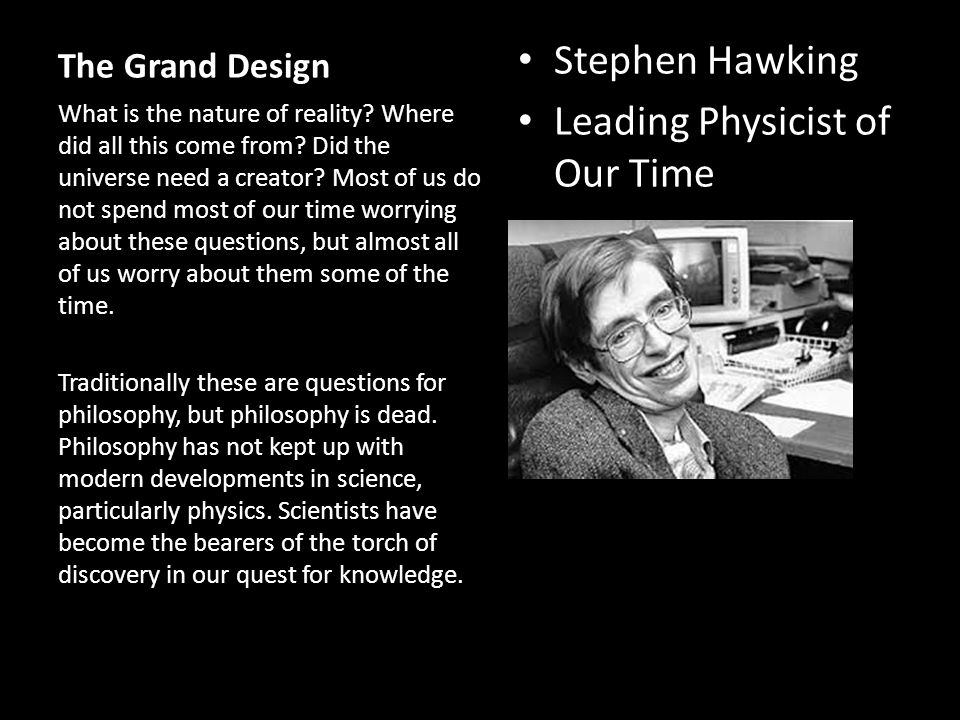 Leading Physicist of Our Time