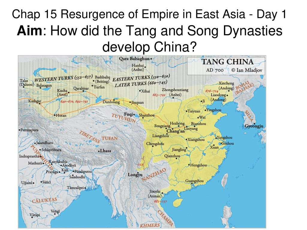 Map Of Asia In 700 Ad.Chap 15 Resurgence Of Empire In East Asia Day 1 Aim How