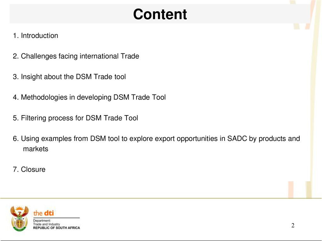 Research Section-the dti - ppt download