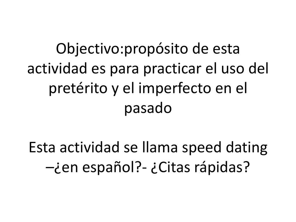 que es Dating en Español