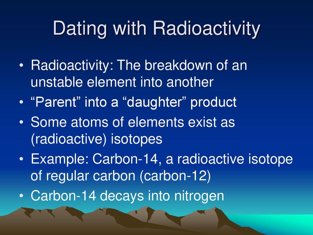 Welke isotopen worden gebruikt voor radiometrische dating