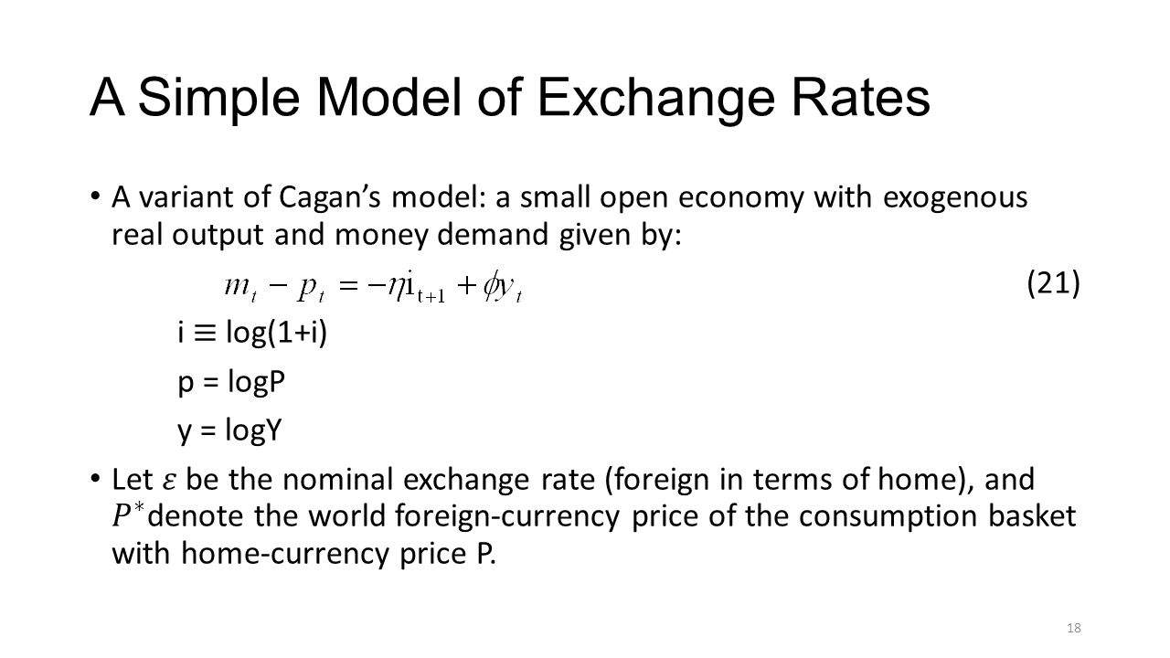 The Cagan Model of Money and Prices - ppt video online download